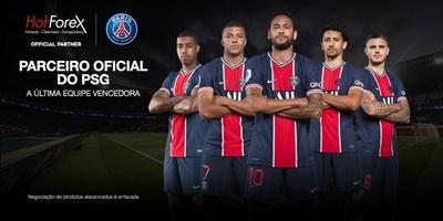 HotForex torna-se parceiro oficial do Paris Saint-Germain