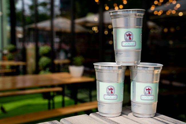 Birdcall to Introduce the Ball Aluminum Cup™ to Cut Down on Plastic Cups