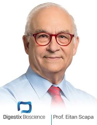 Professor Eitan Scapa, MD – Founder, Digestix Bioscience Inc.