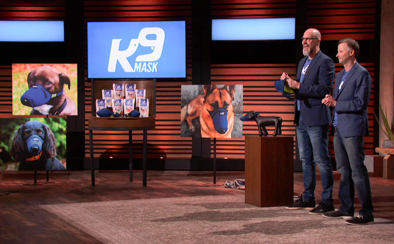 """SHARK TANK"" 2020 Season 12 Episode 6 - Two entrepreneurs from Austin, Texas, work to convince the Sharks that their crisis-inspired masks designed for a beloved family member are worth an investment. FRIDAY, NOV. 20 (8:00-9:00 p.m. EST), on ABC. KIRBY HOLMES, EVAN DAUGHERTY (PRNewsfoto/Good Air Team LLC)"