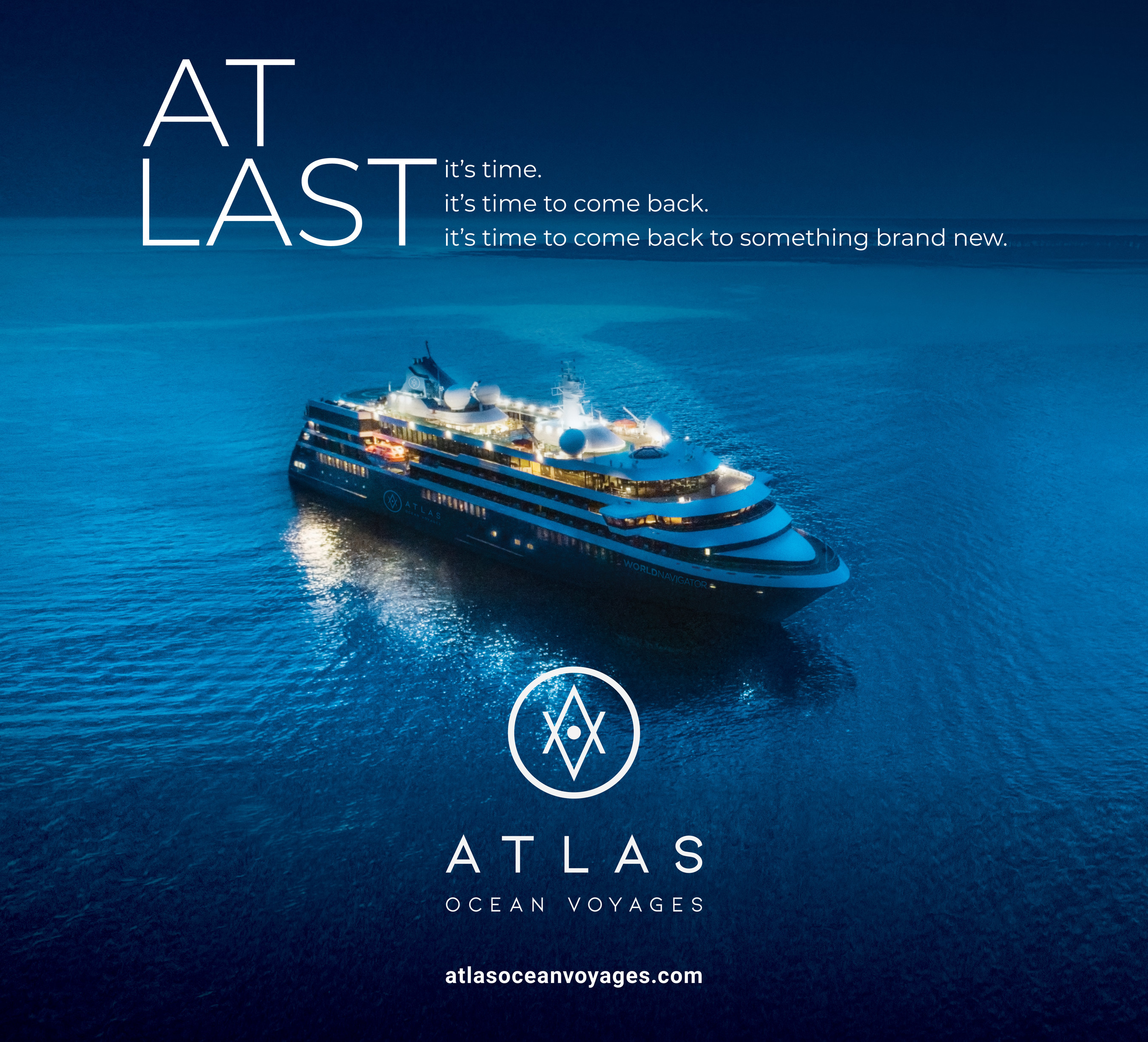Atlas Launches At Last... Atlas Marketing Campaign to Welcome Travelers Back (November 2020)