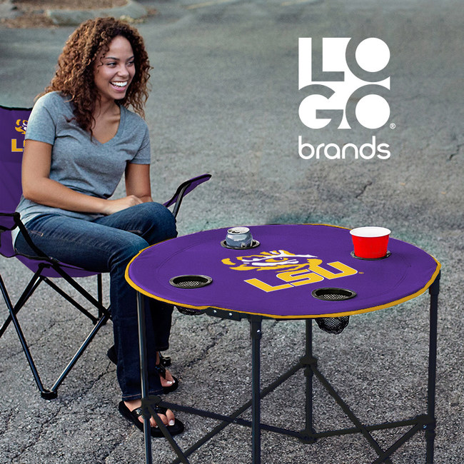 Logo Brands LSU Table & Chair