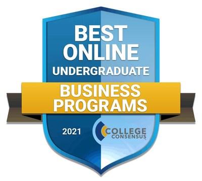 CC Best Online Undergraduate Business Programs 2021