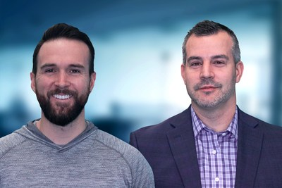 (Left) Tyler Hall, Co-founder and CEO, Drivably. (Right) Andrew Sweet, Co-founder and CRO, Drivably.