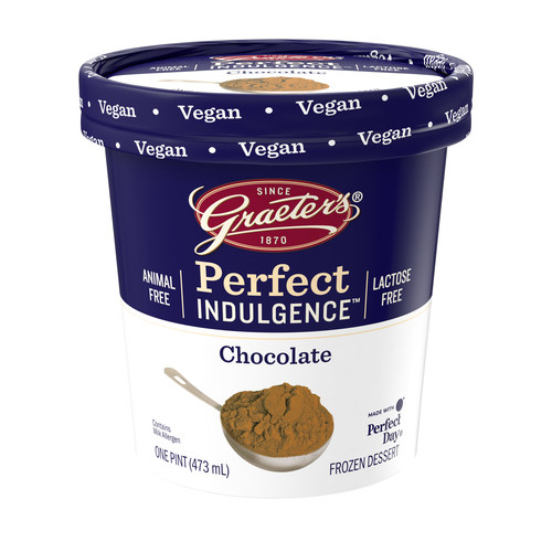Graeter's first-ever line of vegan frozen desserts using Perfect Day's innovative animal-free dairy protein.