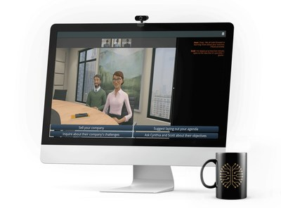 UPtick virtual simulation training software now features Remote Selling modules, which teach sales reps how to manage and connect effectively in remote conversations at every stage of the selling cycle.