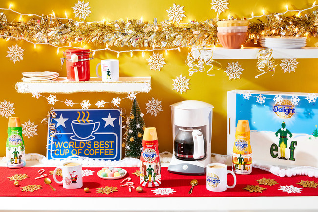 International Delight® and Elf Launch the Ultimate Holiday Decorating Experience