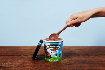 Ben & Jerry's pioneers a holistic approach to living incomes for 5,000 Fairtrade cocoa farmers who provide cocoa for the company's chocolate ice cream base.