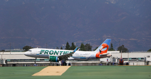 Frontier Airlines announced additional service into and out of Ontario International Airport