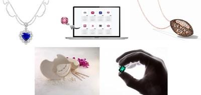 From top left (clockwise): 1. BOJEM; 2. GemCloud Software Ltd; 3. Le Vian; 4. The Muzo Companies; 5. Shineshilpi Jewellers Pvt Ltd