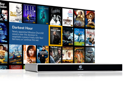 Strato S 4K Ultra HD Movie Player and the Kaleidescape movie store.