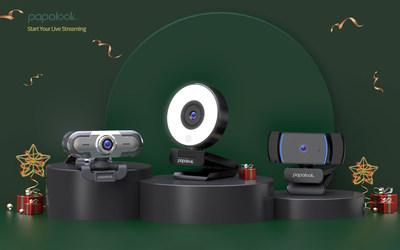 Guia de presentes de fim de ano: dê o presente de conexão nesta época festiva com as webcams inovadoras de alta qualidade do PAPALOOK