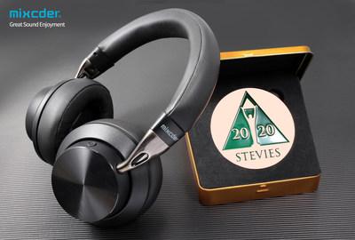 O Mixcder E10 recebe o prêmio Bronze Stevie® por desempenho de última geração com cancelamento ativo de ruído (PRNewsfoto/Mixcder)