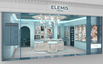 The School House retail design mirrors Elemis' brand ethos: elevated, fundamentally British, with striking modern elements and serene touches that recall our connection to nature.