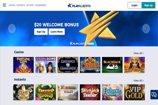 AGLC PlayAlberta.ca online portal (CNW Group/NeoPollard Interactive)