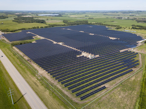 GP JOULE Completes First Merchant Solar Project in Alberta, Canada