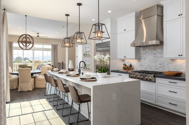 Ladera at Righetti homes are designed in harmony with the land and character of San Luis Obispo.