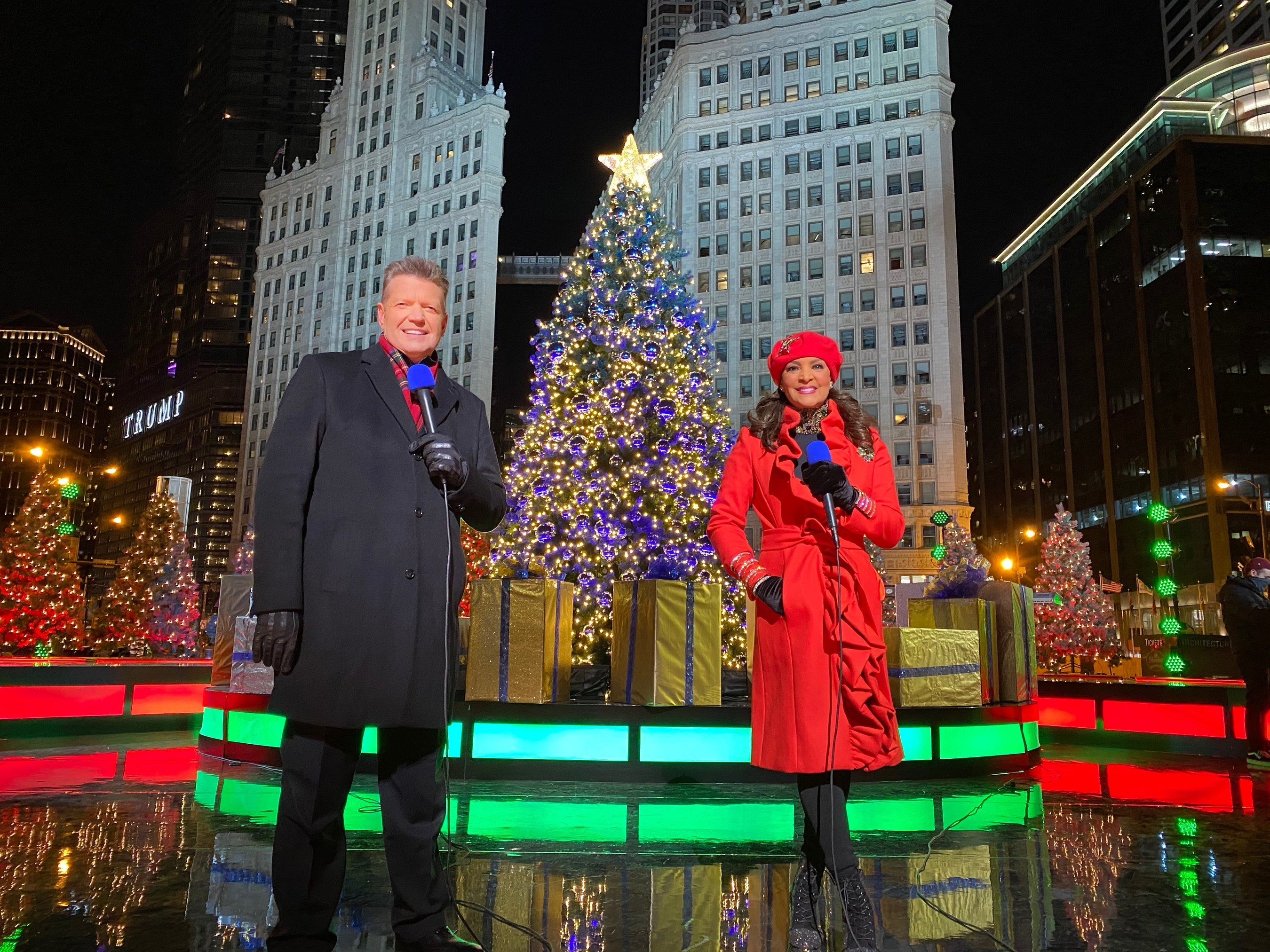 Bmo Harris Bank Christmas Display 2021 Abc 7 Chicago Captures The Magic Of The Season With A Spectacular New Version Of The Bmo Harris Bank Magnificent Mile Lights Festival Headlined By Academy And Grammy Award Winning Actress Singer Jennifer Hudson