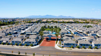 Christopher Todd Communities At Stadium in Phoenix is the largest BTR  community sold in US.