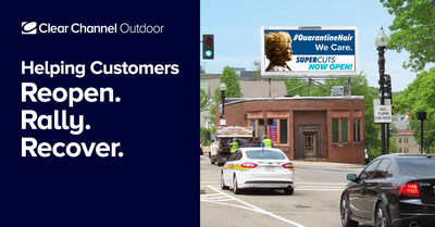 Clear Channel Outdoor is giving local and national advertisers access to a dynamic hub of curated strategies and research to help businesses reopen, rally and recover amid the crisis.