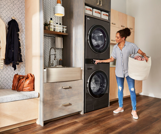 LG Electronics USA is making laundry everyone's favorite household chore with a new advertising campaign celebrating the revolutionary LG WashTower™ – the smart, single-unit solution that makes laundry day easier than ever.