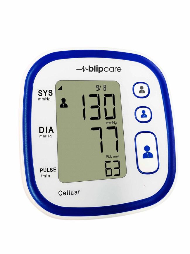 Cellular Blood Pressure Monitor