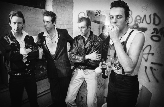 The Clash, New York City, York, 1981 by Michael Grecco