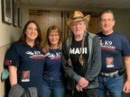 K9 Partners For Patriots Increases PTSD Awareness With Help From Willie Nelson
