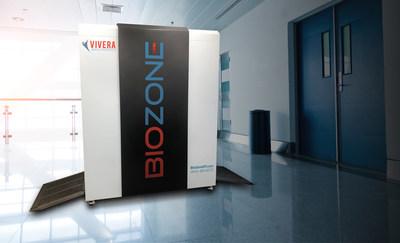 BIOZONE device in hospital corridor