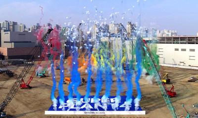 Samsung Biologics Plant 4 Groundbreaking Ceremony
