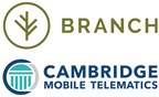 Startup Branch Insurance & Cambridge Mobile Telematics Team Up to Launch Community Drive, Making the Roads Safer for All