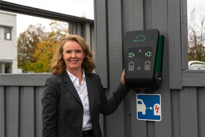 """""""The award of this contract is testament to the quality and reliability of our products and our expertise."""" Cecilia Routledge, Head of EV CTEK. (PRNewsfoto/EVC,CTEK)"""