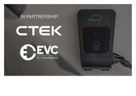 CTEK and EVC logo (PRNewsfoto/EVC,CTEK)