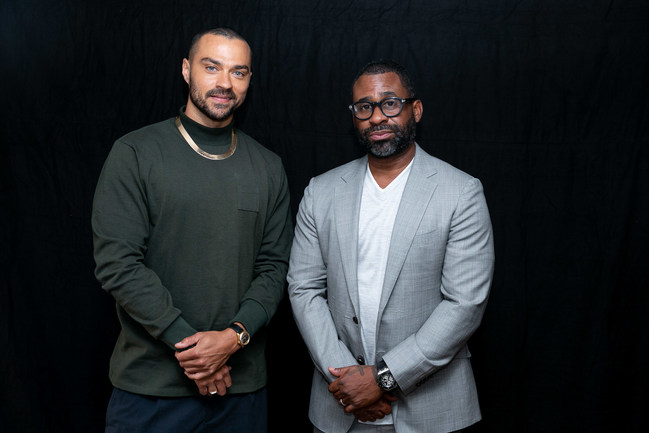 Actor, director, producer, and community activist Jesse Williams (left) joins Bounce TV founder Ryan Glover as an investor in Greenwood, a new digital banking platform for Black and Latinx people and business owners. Greenwood features best-in-class online banking services and innovative ways of giving back to Black and Latinx causes and businesses.  Contact: media@bankgreenwood.com