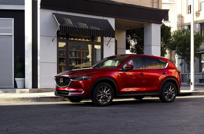 Mazda CX-5 2021 (PRNewsfoto/Mazda North American Operations)