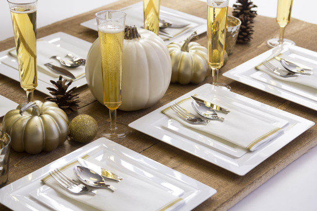 Novolex brand Waddington North America (WNA) is offering stylish, disposable cutlery and dishes that are ideal for the holidays this year. 'Our products are perfect for those seeking an elegant, sophisticated look while making dining safer,' says Jennifer Heller, Vice President of Marketing for WNA. 'They also allow families to spend more time making memories during the holidays and less time cleaning up.'