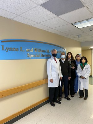 Team members from the Center for Fetal Diagnosis and Treatment at Children's Hospital of Philadelphia
