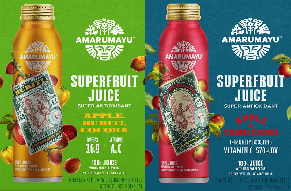 Amarumayu Superfruit Juices (PRNewsfoto/AMARUMAYU)