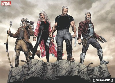 Marvel's Wastelanders, a new multi-part original scripted series available exclusively on SiriusXM starting in 2021, will feature Marvel heroes Old Man Star-Lord, Grey Widow, Old Man Hawkeye, Old Man Wolverine, and more.