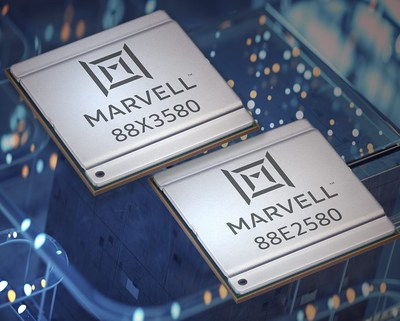 Marvell expands its borderless enterprise portfolio with the addition of the second-generation Alaska® Octal Scalable mGig PHY family.