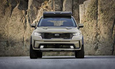 Kia Sorento, edición Zion, es un vehículo de escape del desierto que derrota a las dunas.