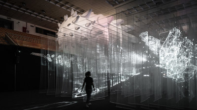 The T1 exhibition area by revealing the management system of daily life, seeing the operating context of the city and real-time individual participation, turn Hsinchu into a city with active