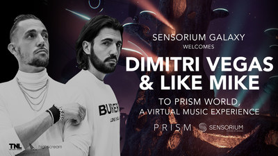 Dimitri Vegas & Like Mike Announce VR Performances At Sensorium Galaxy