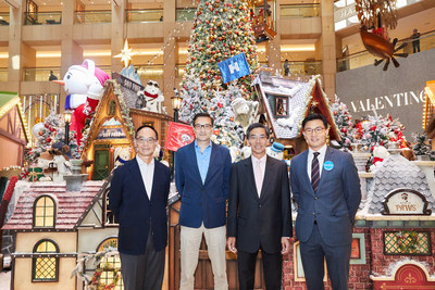 In its first phase of effort, Hongkong Land HOME FUND will collaborate with three Hong Kong community organisations in a series of programmes to benefit local younger generations and families with housing issues. (From left to right) Mr Kent Wong, President of Youth Outreach, Mr Chan Hung, Founder of Principal Chan Free Tutorial World, Mr Robert Wong, Chief Executive of Hongkong Land and Mr Karlson Wong, Director of Make-A-Wish Hong Kong.
