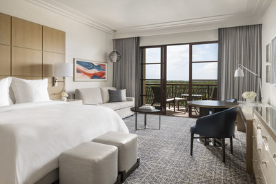 Newly enhanced Park View King guestrooms include a queen-size sofa sleeper, ideal for families of up to four. All guestrooms provide a furnished terrace, and connecting rooms and suites are available.