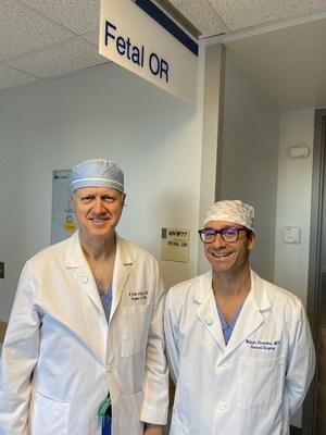 Dr. N. Scott Adzick and Dr. William H. Peranteau