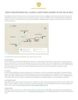 Rocky Mountaineer Fact Sheet - Rockies to the Red Rocks