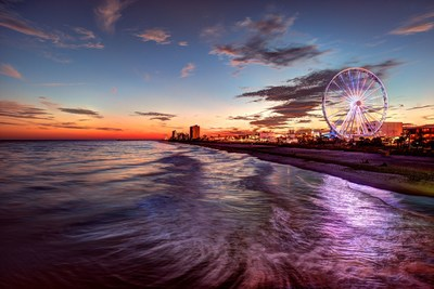 Myrtle Beach, South Carolina offering exclusive Black Friday and Cyber Monday travel deals for upcoming travel to the Grand Strand; Credit: Visit Myrtle Beach