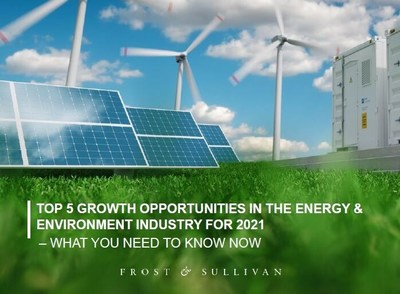 Frost & Sullivan - Top 5 Growth Opportunities in the Energy & Environment Industry for 2021
