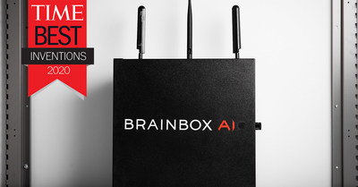 Canadian company BrainBox AI Recognized by TIME as a Best Invention of 2020 (CNW Group/BrainBox AI)